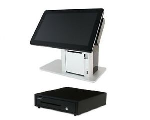 Pos x Vivonet Z tp5e z2t5 51a d Alo Pos System Bundle 14in Touch Cash Drawer