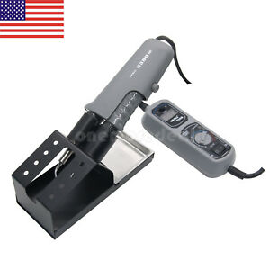 Ce Yihua 938d Hot Tweezers Mini Soldering Station 200 480 c For Bga Smd Us