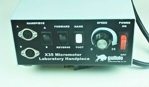 Buffalo X35 Dental Micromotor Lab System A And B Handpieces Micro Motor