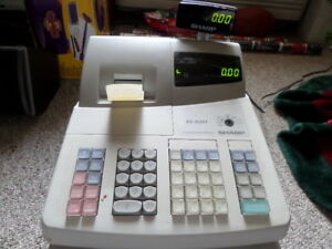Sharp Electronic Cash Register Xe a201 No Key Book Or Software read
