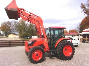 2007 Kubota M9540 4x4 Cab With Kubota Loader free 1000 Mile Shipping