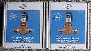 New Cash Acme Pressure Reducing Boiler Feed Valve With Sharkbite You Get 2