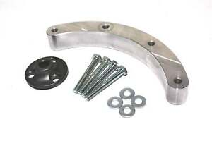 Distributor Mount Kit And Pulley Adapter Hub For 6200 6300 Bbc Belt Drive System