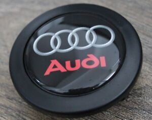 Horn Button Fits Audi Badge Fits Momo Sparco Raid Steering Wheel Sport