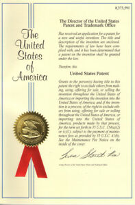 U s Patent 8 373 591 System For Sensing Aircraft And Other Objects