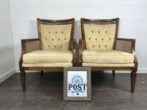 Vintage Ethan Allen Accent Chair Set Of 2