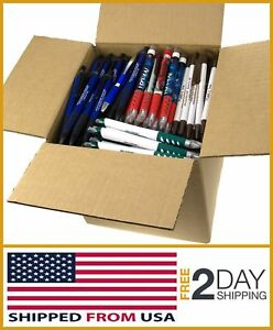 Assorted Misprint Ink Pen Retractable Office Ballpoint 5lb Box New Free Shipping