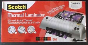 Preowned Manual Scotch Thermal Laminator 2 Heating Systems Tl901 In Box