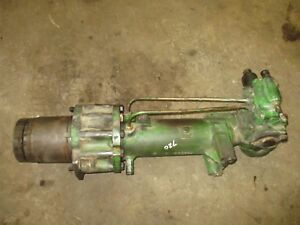 John Deere 720 Working Power Steering Unit Pedestal We Ship Antique Tractor