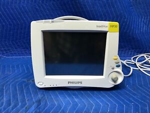 Phillips Intellivue Mp30 Touch Screen Patient Color Monitor W rolling Stand