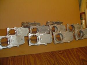 Lot Of 10 Cast Aluminum 3 Dust Collection Full Blast Gates Cut Off Value