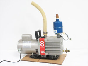 Edwards E2m8 Dual Stage Vacuum Pump With Balston Filter 18 18 371h Filter