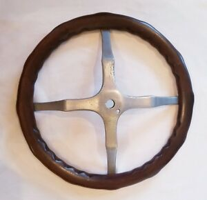 17 Vintage Antique Wood Wooden Steering Wheel Chevy Dodge Brothers Ford Reo