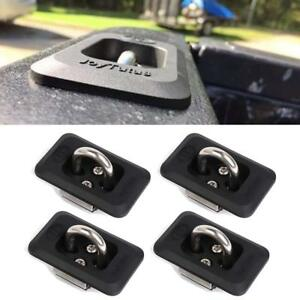 4pcs Tie Down Anchors Truck Bed For 1999 2013 Chevy Silverado Gmc Sierra 1500