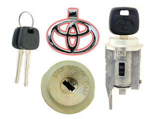 Toyota Rav4 2004 2005 Ignition Lock Cylinder W 2 New Keys Non Transponder