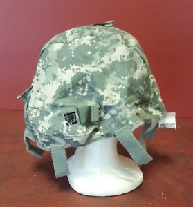 New ACU Camouflage MICH ACH Helmet Cover fits MSA GENTEX SDS Fits SmallMedium
