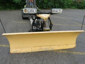 Fisher Storm Guard Minute Mount 2 Snow Plow 7ft 6in Blade W Lights