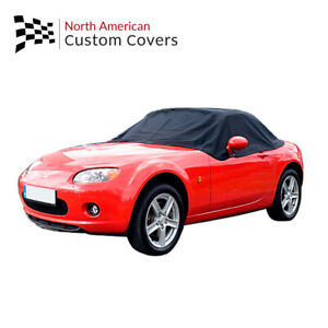 Rp121 Mazda Miata Mx5 Mk3 Convertible Soft Top Roof Half Cover 2006 To 2015