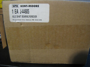 New Kent Moore J 44685 Rear Axle Seal Bearing Remover Removal Puller Tool