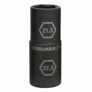Steelman Pro 1 2 In Drive Thin Wall Impact Flip Socket 21 5mmx22 5mm 60187