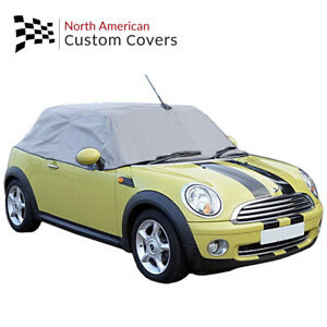Rp115g Mini Cooper Cabrio Convertible Soft Top Roof Protector Half Cover 2004 On