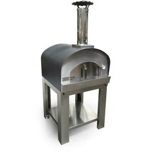 Sole Gourmet Italia 32 inch Outdoor Wood Fired Pizza Oven