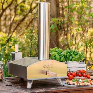 Uuni 3 Portable Outdoor Wood fired Pellet Pizza Oven Stainless Steel