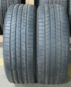 2 Michelin Defender 235 55r17 2355517 235 55 17 99t Dot 2016 Tread Depth 8 32