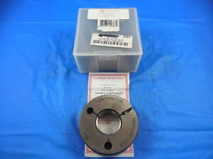 Vermont 1 1 8 7 Unc 2a Thread Ring Gage 1 125 No Go Only P d 1 0228 Inspection