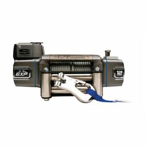 Superwinch Exp 12 Winch 12k Lbs 12v 100 Ft Cable 15 Ft Hand held Remote