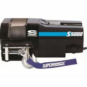 Superwinch S104176 S Series Trailer Winches S5000 12v 5 000 Lbs