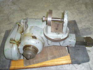Bridgeport Shaping Shaper Attachment 3 Phase