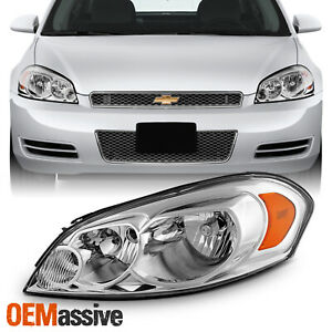 For 06 13 Impala 14 16 Impala Limited 06 07 Monte Carlo Headlight Oe Style Left