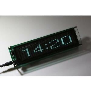 Green Led Music Spectrum Indicator Vu Meter Screen For Amplifier Diy Production