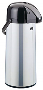Zojirushi Aape 22scxa Air Pot Beverage Dispenser 2 2 Liters Polished Made In