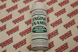 1927 1941 Antique Ford Green Engine Paint Flathead V8 Model A Model T