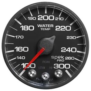 Autometer P546328 Spek Pro Nascar Water Temperature Gauge