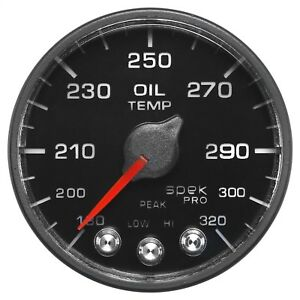 Autometer P553328 N1 Spek Pro Nascar Oil Temperature Gauge