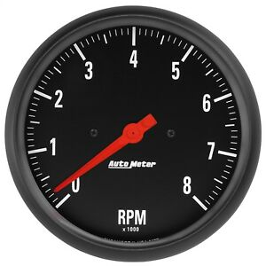 Autometer 2677 Z series In dash Electric Tachometer