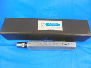 1 4 Npt L2 Pipe Thread Plug Gage 25 N p t L 2 Quality Inspection Tools Machine