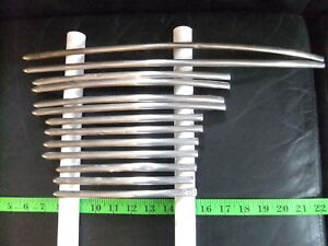 1938 1939 Ford Grille Mouldings Stainless Steel Oem Hard To Find