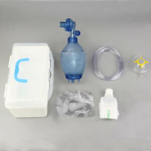 Manual Simple Resuscitator Pvc Kid Ambu Bag Oxygen Tube First Aid Kit Nd