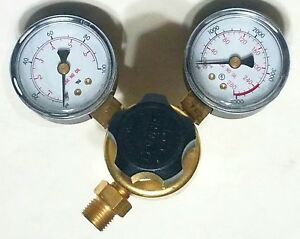 New Harris Model 601 Oxygen Regulator Gauge Cga 540 Cutting Welding Torch Victor
