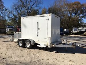 Mobile Office Hunting Cabin Trailer