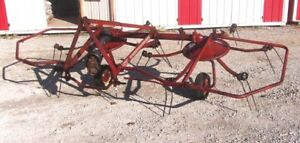 Used New Holland Model 157 Hay Tedder 10 Ft can Ship Cheap And Fast