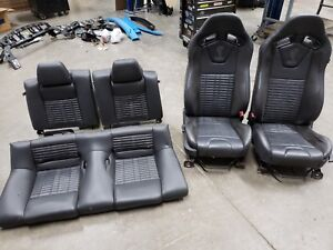 2013 2014 Ford Mustang Gt500 Recaro Leather Seats Front Back Oem