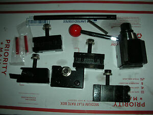 New Premium Atlas Craftsman 9 12 Lathe Quick Change Tool Post Set tooling New