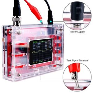 Dso138 2 4 Inch Tft Digital Oscilloscope Welded diy Parts Kit acrylic Case Nd