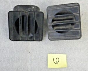 1967 1972 Chevy Gmc Truck Dash Defroster Duct Vent Oem Used Pair