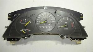 Speedometer Us W Tach W o Floor Console police Package Fits 98 99 Lumina Car